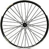 Wilkinson Hybrid Double Wall Rear Wheel - Black, 700 C