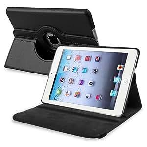 """Bingsale Étui de protection en cuir synthétique rotatif à 360° pour iPad Mini 7,9""""  - noir"""