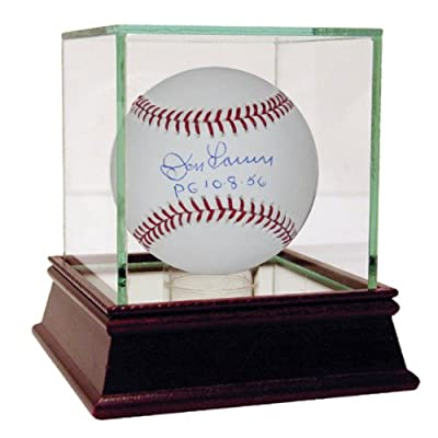 MLB New York Yankees Don Larsen Baseball with PG 10-8-56 (Inscribed)