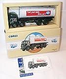 corgi classic foden milk tanker limited edition diecast model