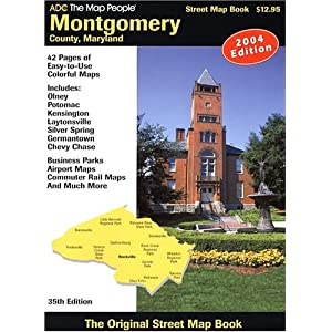 montgomery county md atlas montgomery county md street map book