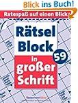 R�tselblock in gro�er Schrift 59