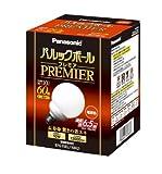 パナソニック パルックボールプレミア G15形 電球色 電球60形タイプ E26口金 810 lm EFG15EL10H2