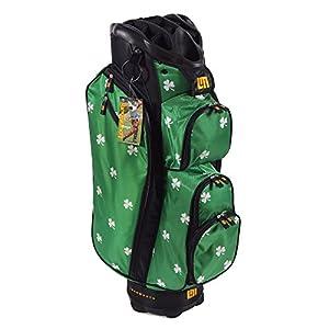 LoudMouth Shamrock Cart Bag