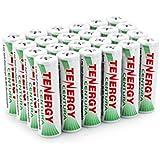 Tenergy Centura AA Low Self-Discharge LSD NiMH Rechargeable Batteries, 6 Card 24xAA