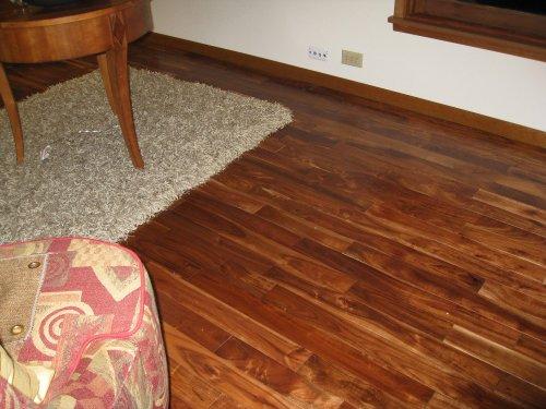 Asian Walnut Acacia Solid Prefinished Hardwood Wood Floor Flooring