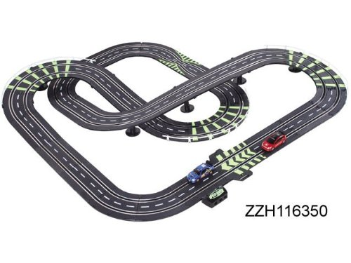 AMG Life Like Formula 1 cars Spin Slot Car Track Set - Racing Showdown 25ft of Track + 120ps Accessories! Limited Edition