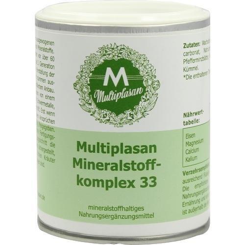 Plantextrakt MULTIPLASAN MINERAL KOMP33 350St Tabletten PZN:4155490