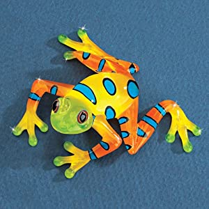 Markdowns Office Furniture Amazon.com - Rain Forest Frog Glass Figurine - Collectible Figurines
