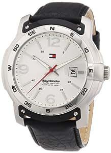 TOMMY HILFIGER Herren-Armbanduhr XL Analog Quarz Leder 1790899