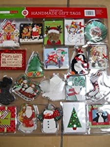 Living Home 60 Ct Handcrafted Gift Tags