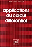 echange, troc Eecke Ver Paul - Applications du calcul différentiel