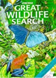 The Usborne Great Wildlife Search (Great Searches (EDC Hardcover)) (0746033338) by Young, Caroline