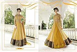 WESTERN DESIGNER PARTY WEAR ANARKALI SALWAR KAMEEZ SUIT BRIDAL WEDDING