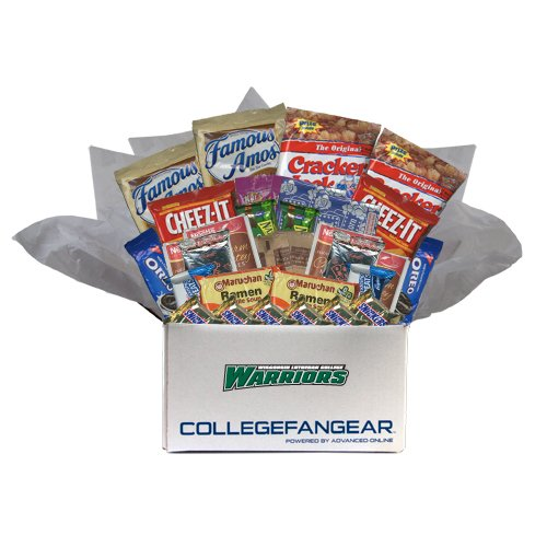 Wisconsin Lutheran College Care Package Snackdown Deluxe 'Wisconsin Lutheran College Warriors'