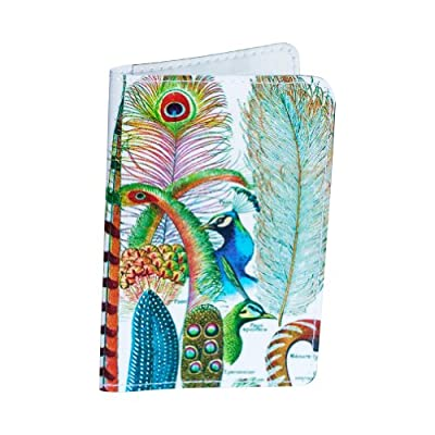 Vintage Plumes Gift Card Holder & Wallet