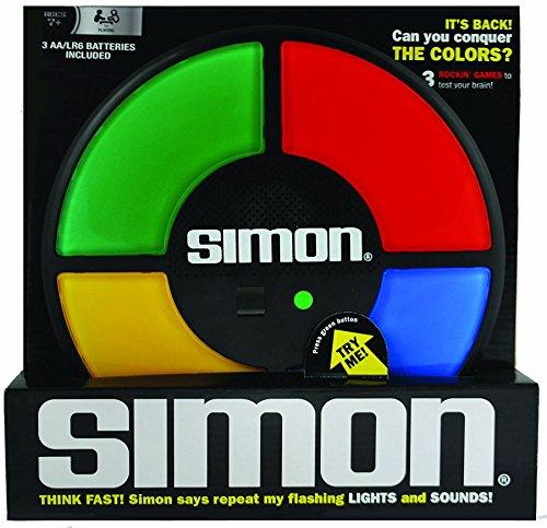 Simon Game - Basic Fun SIMON The Electronic Memory Retro Game w/ Touch