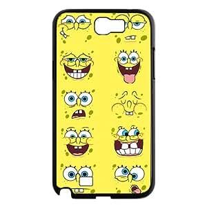 Top Designer Samsung Case SpongeBob SquarePants for Samsung Galaxy Note 2 N7100 Case Cover