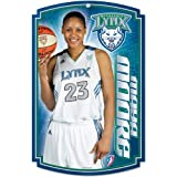 "WNBA Minnesota Lynx Jessica Moore 11-by-17-Inch Wood Sign ""Traditional Look"""