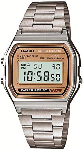 [CASIO] CASIO watch standard digital Watch Gold letter Board overseas model domestic manufacturers warranty A-158WEA-9JF