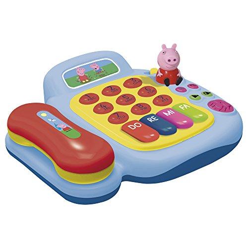 Claudio Reig - Teléfono y piano con figura Peppa Pig (2331)