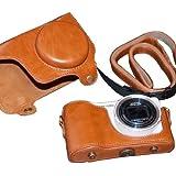 PU Case Camera Case Bag for Samsung Galaxy GC200 Camera Bag EK-GC 200 (brown)