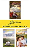 img - for Harlequin Love Inspired August 2016 - Box Set 2 of 2: The Texan's Second Chance\The Bachelor's Sweetheart\Lakeside Romance book / textbook / text book