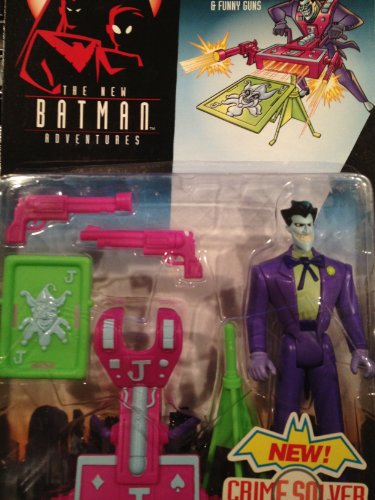 The New Batman Adventures: Wildcard Joker with Calling Card Cannon & Funny Guns