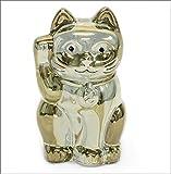 バカラ LUCKY CAT 表情が可愛い☆日本生まれのラッキーモチーフ☆「招き猫」(ゴールド) 2612997(並行輸入品)