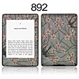 TaylorHe Vinyl Skin Decal for Amazon Kindle Paperwhite Ultra-slim protection for Kindle MADE IN BRITAIN FREE UK DELIVERY Design of Birds and Branches Vintage Texture