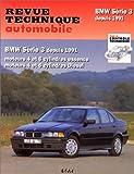 echange, troc Collectif - Revue technique automobile, n° 725 : BMW série 3 depuis 1991,  Moteurs 4 et 6 cylindres essence, moteurs 4 et 6 cylindres die