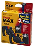 2 Kodak MAX 35mm Single Use Cameras with Flash