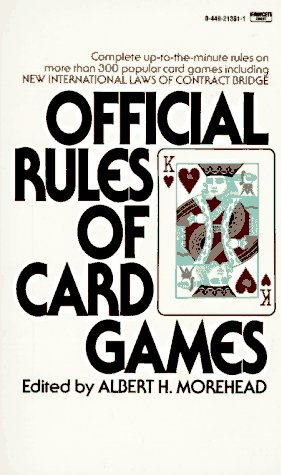 Official Rules of Card Games, Albert H. Moorehead