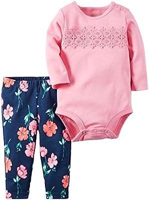Carter's 2 Piece Floral Leggings Set (Baby)