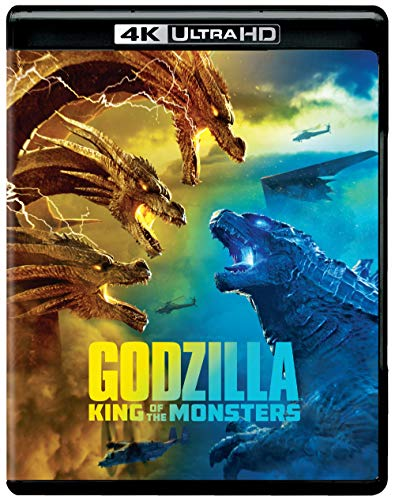 4K Blu-ray : Godzilla: King Of The Monsters (2 Discos)