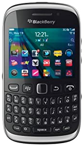 Vodafone BlackBerry Curve 9320 Pay as you go Smartphone - Black