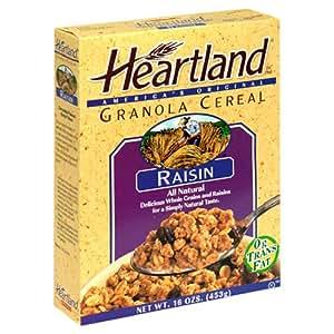 Amazon.com: Heartland Granola Cereal, Raisins, 16-Ounce