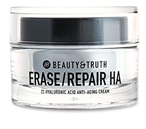 Beauty & Truth Erase Repair Hyaluronic Anti-Aging Creame, 0.3 Pound