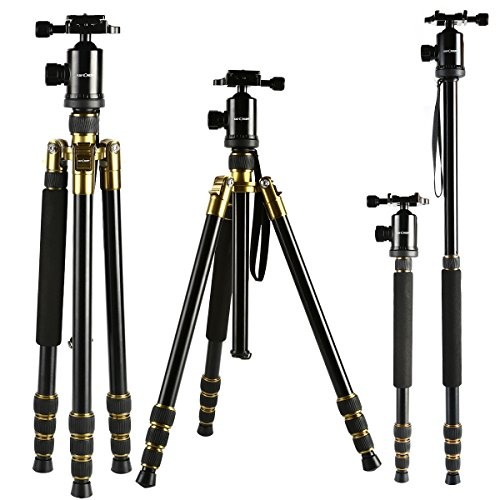 kf-conceptr-64-inch-camera-tripod-detachable-monopod-and-aluminium-4-sections-horizontal-column-trip