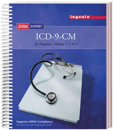 ICD-9-CM Expert for Hospitals, Vols 1, 2 & 3  - 2006 1563377039