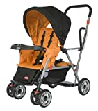 SAVE $67.42 - Joovy Caboose Stand On Tandem Stroller, Orange $132.57