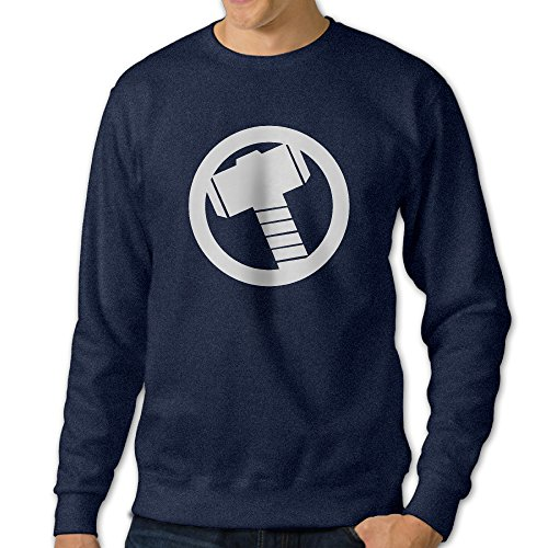 101Dog Thor Hammer Logo Mens Pullover-sweaters X-Large Navy (Club America Bottle Opener compare prices)