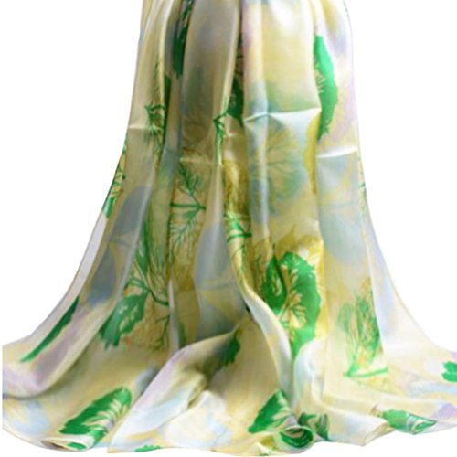 100-charpe-Foulard-soie-Grande-soie-Taille-de-la-fleur-de-la-femme-Imprimer-Doux-Grand-Foulard-en-soie-180-110cm