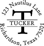 Letter Address Stamp