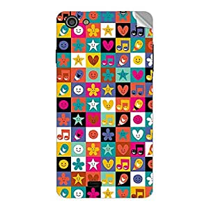 Garmor Designer Mobile Skin Sticker For Lava Iris Fuel 25 - Mobile Sticker