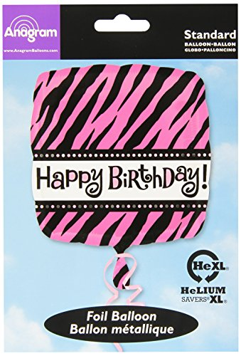 "Anagram International Oh So Fabulous Birthday Balloon, 18"", Multicolor"