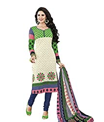 Raad Fashion Women's Cotton Unstitched Dress Material