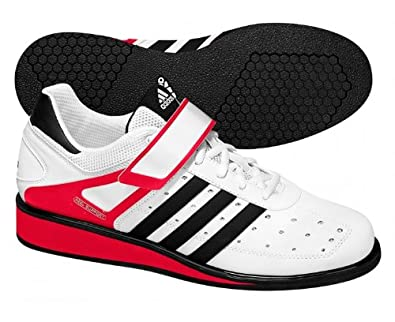 Adidas Power Perfect II Weightlift Shoes - 7.5 - White
