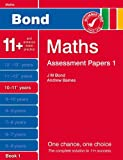 Andrew Baines New Bond Assessment Papers Maths 10-11+ Years Book 1
