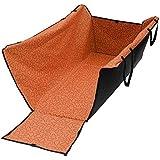 T Tocas® Larger Adjustable Waterproof Car Back Seats Pet Dog Cat Safety Travel Hammock Covers Carrier Mat (Orange)